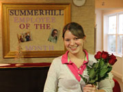 Emily Cutter - Employee of the Month - November 2012