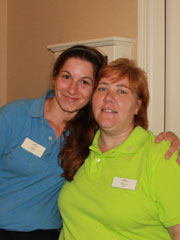 Julie Fortier  - Employee of the Month - August 2013