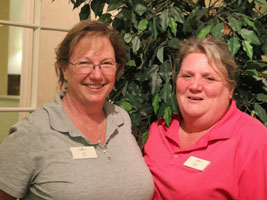 Jan Schultz and Laura Thibaudeau - 2013 Employees of the Year